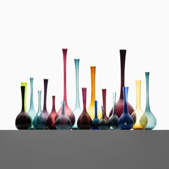 Arthur Percy glass vases by Gullaskruf at Studio Schalling