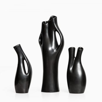 Lillemor Mannerheim Mangania stoneware vases at Studio Schalling