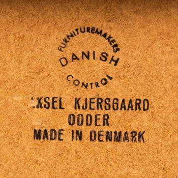 Aksel Kjersgaard mirror in rosewood at Studio Schalling