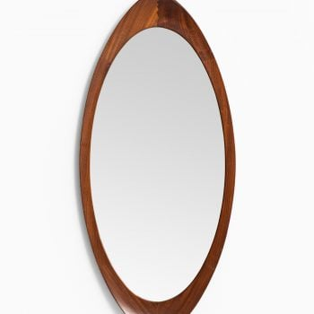 Mirror in teak by Glas & Trä Hovmantorp at Studio Schalling