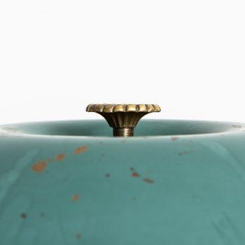 Table lamp in brass by Nordiska Kompaniet at Studio Schalling