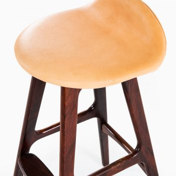Erik Buch bar stools model OD-61 in rosewood at Studio Schalling