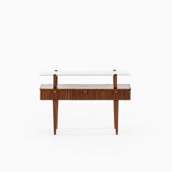 Small side table / bureau in beech at Studio Schalling