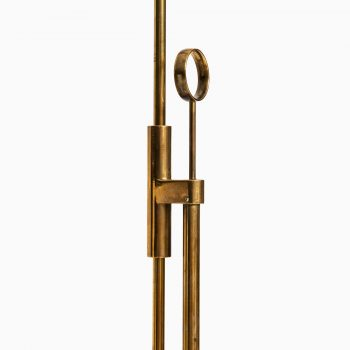 Pair of floor lamps in brass by Falkenbergs at Studio Schalling