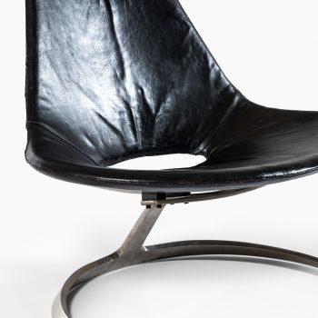 Preben Fabricius & Jørgen Kastholm Scimitar chair at Studio Schalling