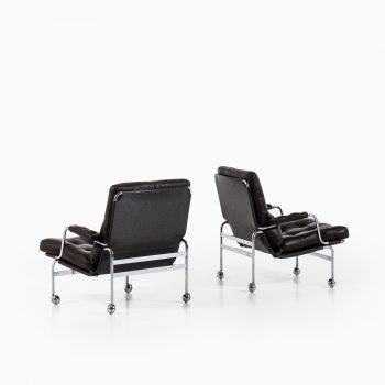 Bruno Mathsson Karin easy chairs by DUX at Studio Schalling