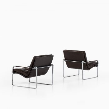Jørgen Lund & Ole Larsen easy chairs at Studio Schalling