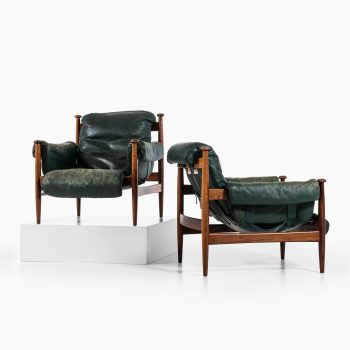 Eric Merthen Amiral easy chairs in rosewood at Studio Schalling