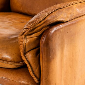 De Sede DS-61 easy chairs in brown leather at Studio Schalling