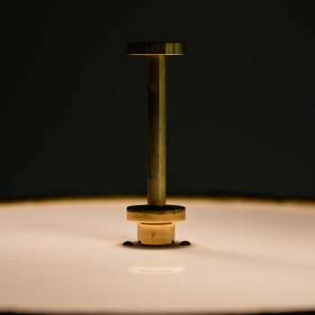 Floor lamp in brass attributed to Bergbom at Studio Schalling