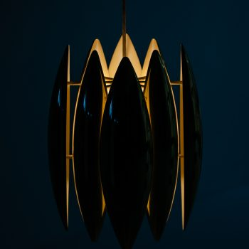 Jo Hammerborg Kastor ceiling lamp in brass at Studio Schalling