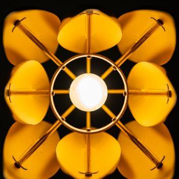 Jo Hammerborg Kastor ceiling lamp in brass at Studio Schalling