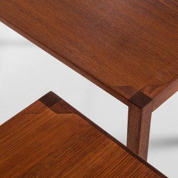 Eskild Pontoppidan & M. Ryder nesting tables at Studio Schalling