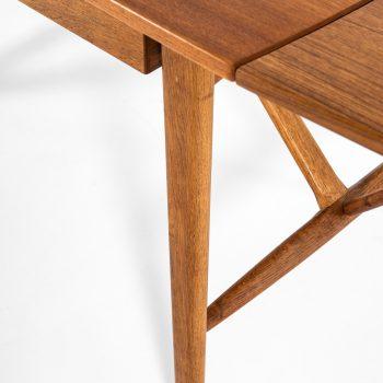 Svend Aage Madsen desk in teak and oak at Studio Schalling