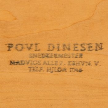 Povl Dinesen dining table model PD 700 at Studio Schalling