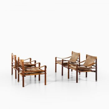 Arne Norell easy chairs model Sirocco at Studio Schalling