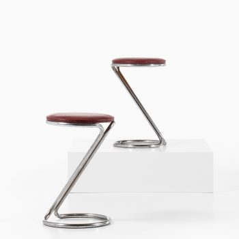 Pair of stools in the manner of Poul Henningsen at Studio Schalling