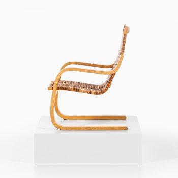 Alvar Aalto model 406 easy chair in birch at Studio Schalling