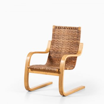Alvar Aalto model 406 easy chair in birch at Studio Schalling