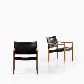Per-Olof Scotte easy chairs model Premiär at Studio Schalling