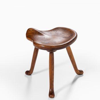 Josef Frank stool in oak by Svenskt Tenn at Studio Schalling