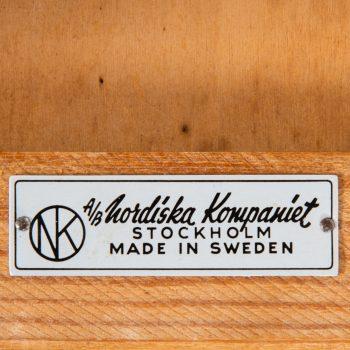 Bedside tables in ash by Nordiska Kompaniet at Studio Schalling