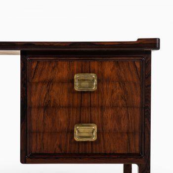 Aage Windeleff desk in rosewood and brass at Studio Schalling