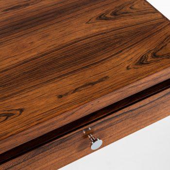 Poul Nørreklit desk in rosewood and plexiglass at Studio Schalling