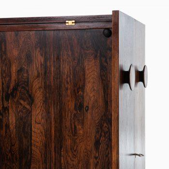 Johannes Andersen bar cabinet in rosewood at Studio Schalling