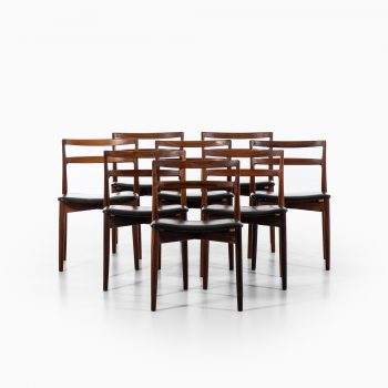 Harry Østergaard dining chairs model 61 at Studio Schalling