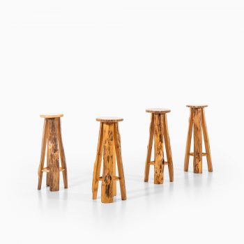 Sigvard Nilsson bar stools by Söwe at Studio Schalling