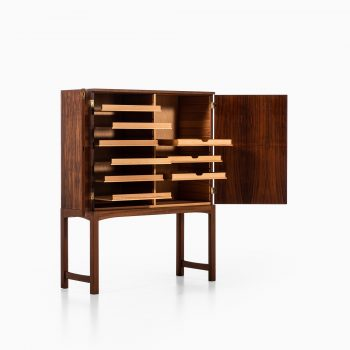 Rosewood cabinet attributed to Carl Malmsten at Studio Schalling