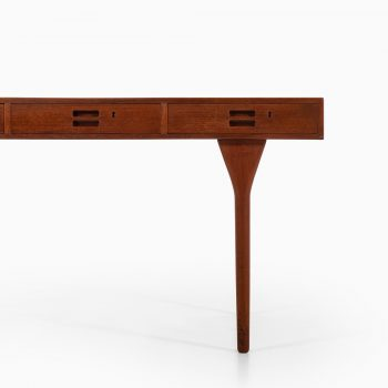 Nanna Ditzel freestanding desk in teak at Studio Schalling