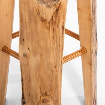 Sigvard Nilsson bar stools in poplar at Studio Schalling