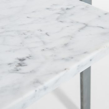 Poul Kjærholm PK-61 coffee table with marble at Studio Schalling