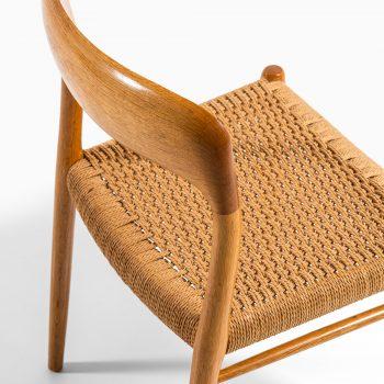 Niels O. Møller dining chairs model 75 at Studio Schalling