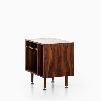 Jens Risom cabinet in rosewood and steel at Studio Schalling
