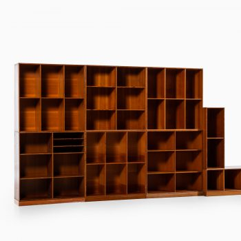 Mogens Koch bookcases in oregon pine at Studio Schalling
