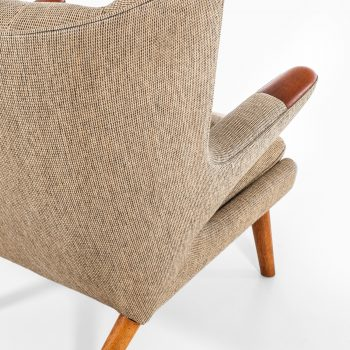 Hans Wegner Papa bear chair in teak and oak at Studio Schalling