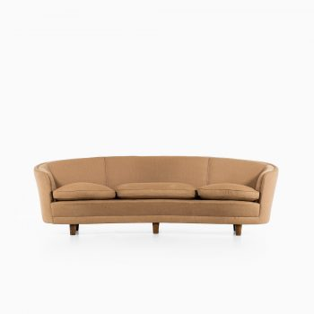 Otto Schulz large curved sofa by Boet at Studio Schalling