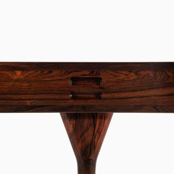 Nanna Ditzel freestanding desk in rosewood at Studio Schalling