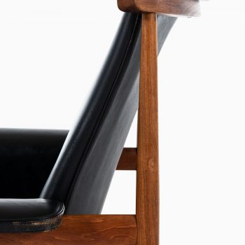 Finn Juhl Bwana easy chair with stool at Studio Schalling