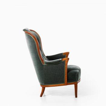 Carl Malmsten lounge chairs in mahogany at Studio Schalling