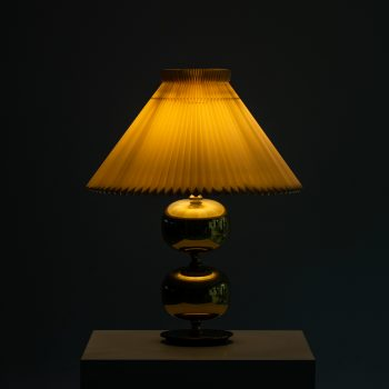 Henrik Blomqvist table lamps in brass at Studio Schalling