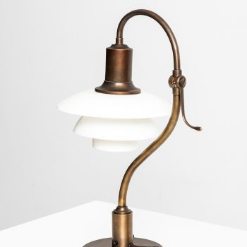 Poul Henningsen the question mark table lamp at Studio Schalling