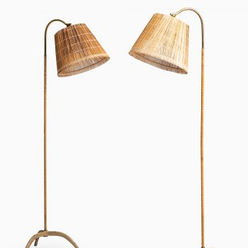 Paavo Tynell early floor lamps from 1940's at Studio Schalling
