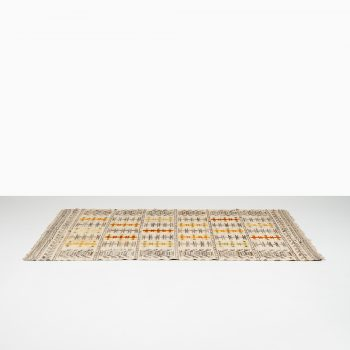 Mid century carpet at Studio Schalling