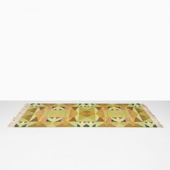 Ingegerd Silow mid century carpet at Studio Schalling