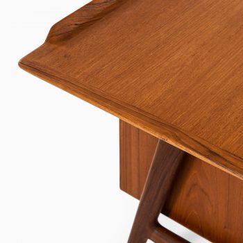 Arne Vodder freestanding desk in teak at Studio Schalling