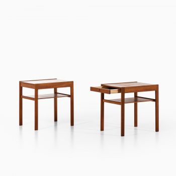 Gunnar Myrstrand & Sven Engström Dixi bedside tables at Studio Schalling